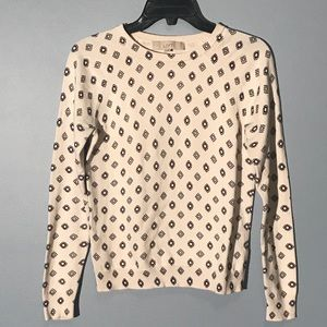 Creme Crew neck sweater